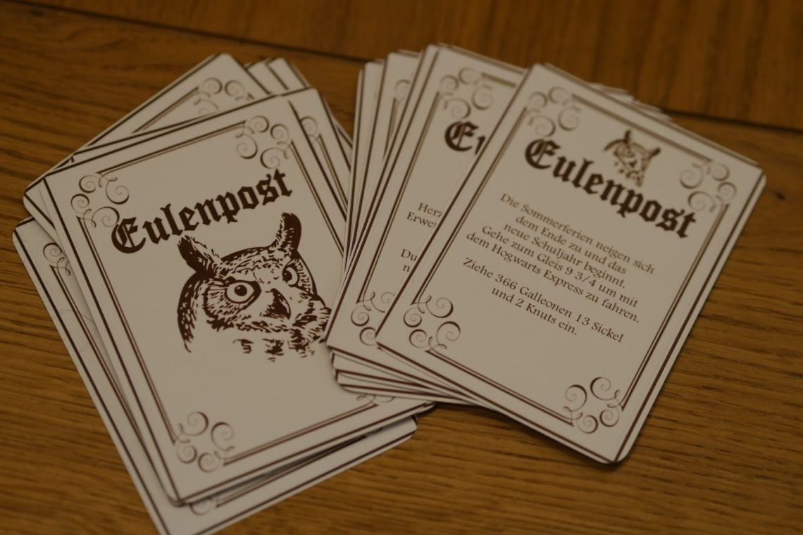 harry potter monopoly 4 – magische spielregeln – utiniswundertuete.de